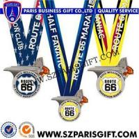 Buy cheap Medals&Ribbon Product nameUnqiue Gold Silver Bronze Medals Medallion Sport Medal Award Medal from wholesalers