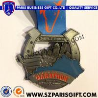 Buy cheap Die Cast Medals KENTUCKY DERBY FESTIVAL MARATHON MEDAL from wholesalers