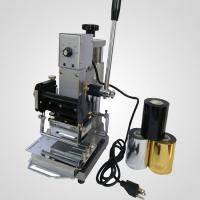 Buy cheap PVC card hot foil stamping machine from wholesalers