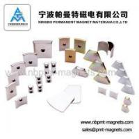 Buy cheap industrial permanent magnetic tile for motor from wholesalers