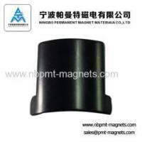 Buy cheap Arc NdFeB magnetic tile for motor from wholesalers