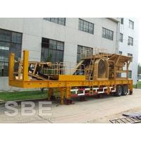 Buy cheap Gold ore jaw crusher mobile station for sale in Iran from wholesalers