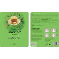 Buy cheap Puer Tea Anti-Wrinkle Face Mask from wholesalers