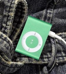 Quality Smart Balance Scooter iPod Shuffle 2GEN 1GB - Green for sale