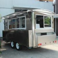 Buy cheap New Style mobile kitchen cart mobile food trailers for sale from wholesalers