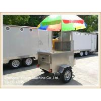 Buy cheap YS-HD120A Stainless Steel mobile food kiosk hot dog cart from wholesalers