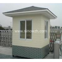 Buy cheap Portable Outdoor Light Steel Security Guard Booth from wholesalers