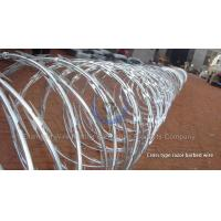 Buy cheap Cross type razor barbed wire from wholesalers