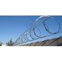 Buy cheap Single loop razor barbed wire from wholesalers