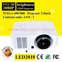 Buy cheap 800*600 support 720P/1080P portable movie projector led from wholesalers