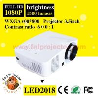 60W LED, 20000hours Life 1500 lumens Home Theater Projector