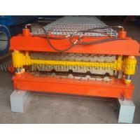 Buy cheap Galvanized Steel Roof Profile Double Layer Roll Forming Machine from wholesalers