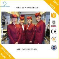 Buy cheap Wholesale Custom Design Airline Uniform For Stewardess, Airline Hostess Uniform, Airport Uniforms from wholesalers