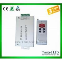 Buy cheap 6keys RF led RGB controller (aluminum shell) from wholesalers