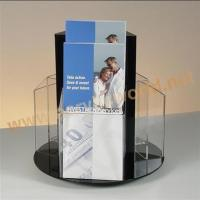 Buy cheap Jewellery display stand revolving pmma brochure display stand from wholesalers