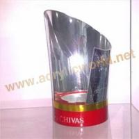 Buy cheap Jewellery display stand decorative wine bottle holder with led light from wholesalers