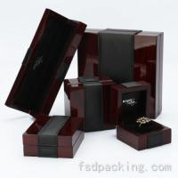Buy cheap Customized Lacquer Wood Jewelry Boxes FMH061 product