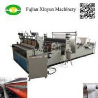 Buy cheap Fully Automatic toilet tissue paper making machine for sale from wholesalers
