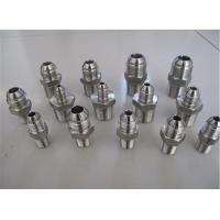 Buy cheap Stainless Steel JIC Flare Fitting 1/4 Inch SAE 37 Degree JIC Male X 1/4 Inch MNPT from wholesalers