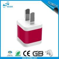 Buy cheap Usb travel charger adapter,travel adapter usb charger factory directly sold out from wholesalers
