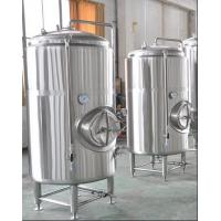 Buy cheap 1500L Stainlss Bright Beer Tank With Dimple Jacket from wholesalers