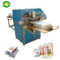 Buy cheap Popular semi automatic toilet roll paper wrapping machine from China from wholesalers
