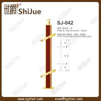 Buy cheap Aluminum-Wood Stair Baluster Design (SJ-042) from wholesalers