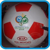 Buy cheap 10ft tall Inflatable football balloon with blower,customs size accept,best supplier here from wholesalers