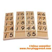 Buy cheap Kindergarten teaching aids Montessori Materials - Teen & Ten Boards Set from wholesalers