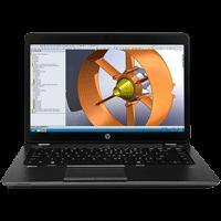 Buy cheap HP Zbook 14 Core i7 4500U 4rth Gen. Black from wholesalers