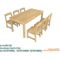 Buy cheap preschool furniure baby furniture wooden chair for children from wholesalers
