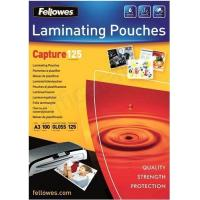 Buy cheap Fellowes Laminating Pouch 125 Micron A3 Ref 5307506 [Pack 100] from wholesalers