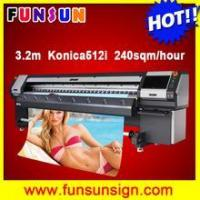 Buy cheap Factory price 10ft wide format digital printer with konica 512i head from wholesalers