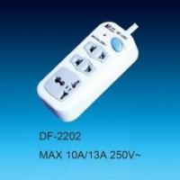 Buy cheap 3Way universal standard extension socket/power strip with master switch product