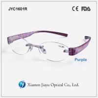 Buy cheap Rimless Plastic Reading Glasses from wholesalers