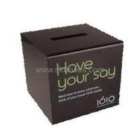 Buy cheap Customized the ballet box acrylic raffle box suggestion box with lock BBS-028 from wholesalers