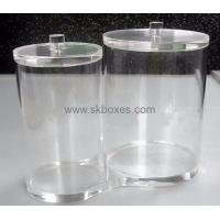 Buy cheap Acrylic bulk food dispenser with lid BFD-001 from wholesalers