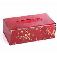 Buy cheap Wholesale clear plastic tissue box printed box acrylic display box BTB-151 product
