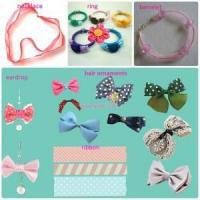 Buy cheap Color card 34.Hair bows/ribbon necklace/bracelet/ring/eardrop from wholesalers