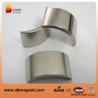 Buy cheap N50 Arc Motor NdFeB Magnet Manufacturer from wholesalers