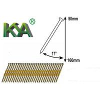 Buy cheap Plastic Collated 17 Degree Galvanized Strip Nails from wholesalers