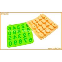 Buy cheap 9-Numbers Silicone ice cube tray from wholesalers