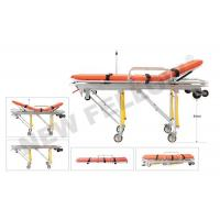Buy cheap Patients Auto Loading Aluminum Alloy Ambulance Trolley Stretchers NF-A3 from wholesalers