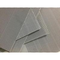 Buy cheap Gray Perforated PVC Sheet from wholesalers
