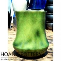 Buy cheap Contemporary Green Ceramic Flower Pots (HPAN045) from wholesalers