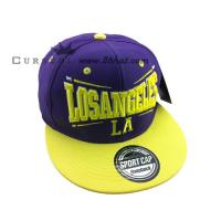 Buy cheap New design custom flat peak caps retro snapback hats from wholesalers