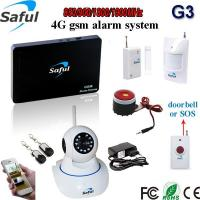Buy cheap Smart phone APP remote control adjustable siren volume motion sensor alarm wifi camera from wholesalers