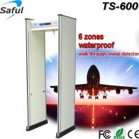 Buy cheap High performance super waterproof and fire-proof walk through detector door TS-600 from wholesalers