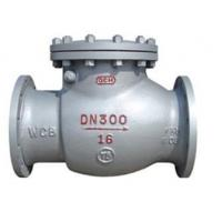 Buy cheap flanged swing check valve Flange Swing Check Valve from wholesalers