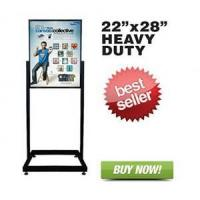 Buy cheap Heavy Duty Floor Standing Poster Display Stand Sign Holder 22 X 28 from wholesalers